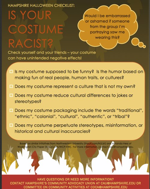 Is your costume racist?