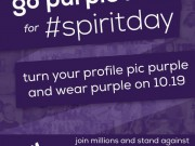 Spirit Day 2012 - Supporting Lesbian, Gay, Bi, Transgender Youth