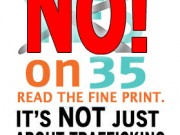 Californians: Vote NO on Prop 35