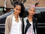 Jada Pinkett-Smith with Willow