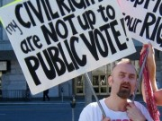 My Civil Rights are Not Up to Public Vote