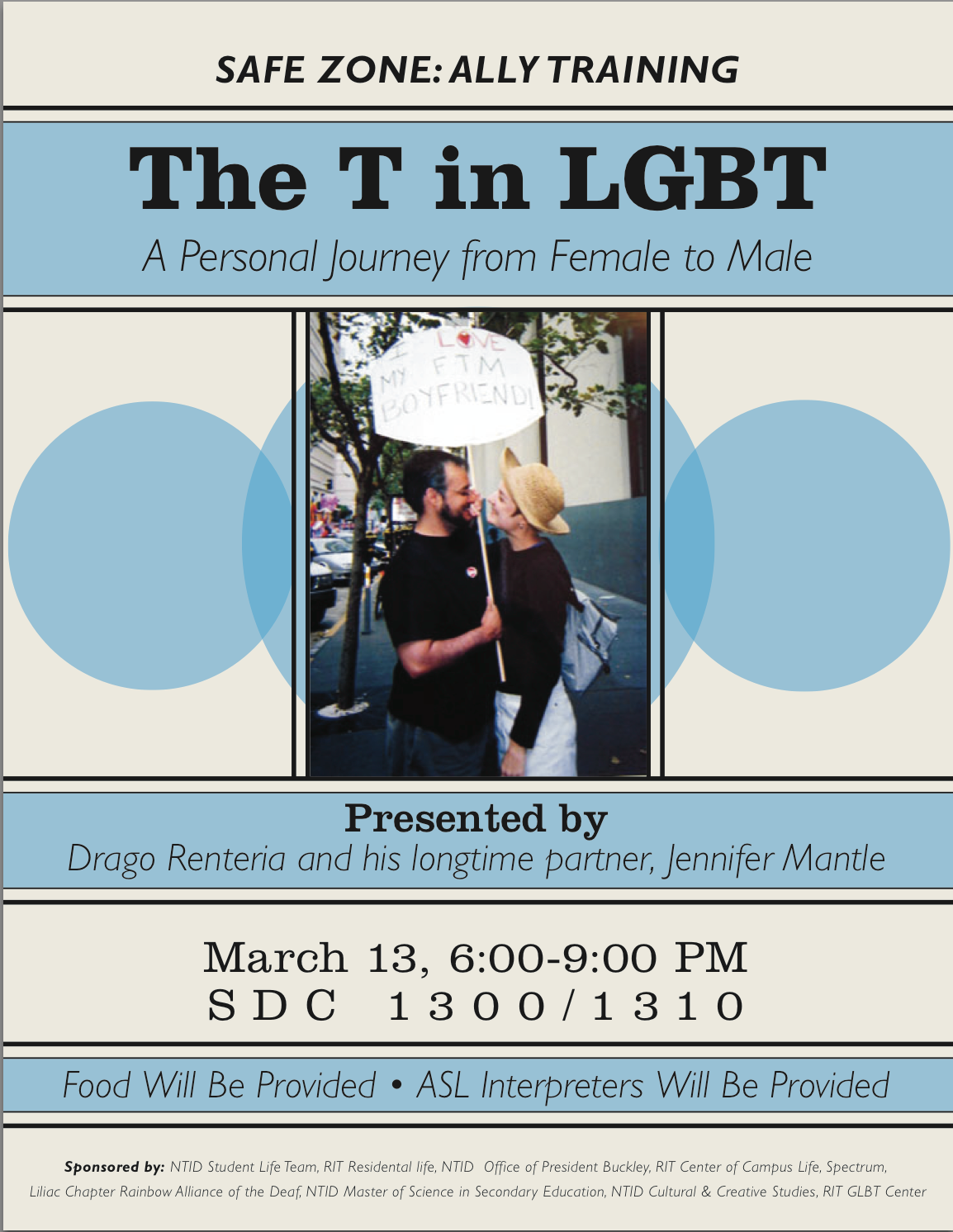 """The """"T"""" in LGBT Workshop"""