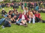 Deaf Trans Folks and Allies at the SF Trans March
